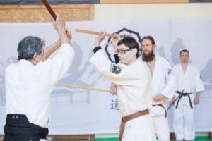 На семинаре с Нагано сенсей