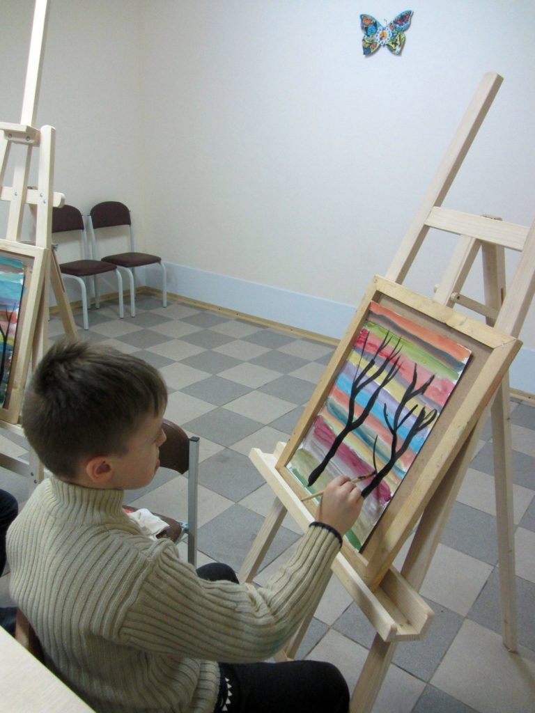 Курс рисования красками - фото 1