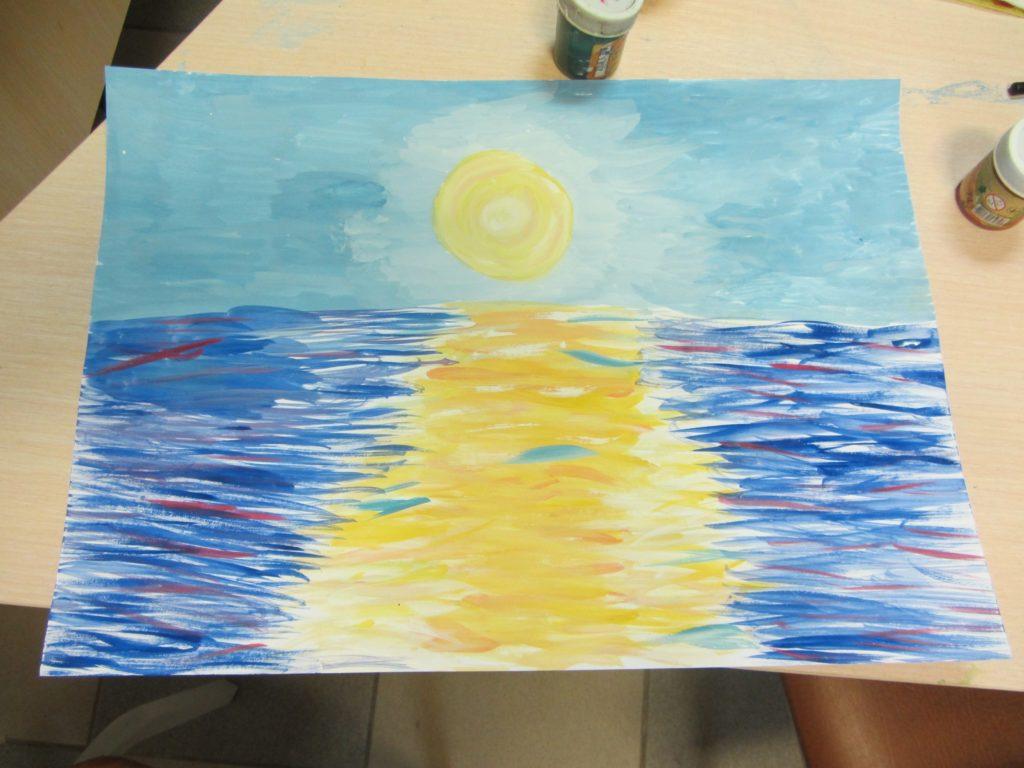 Курс рисования красками - фото 6