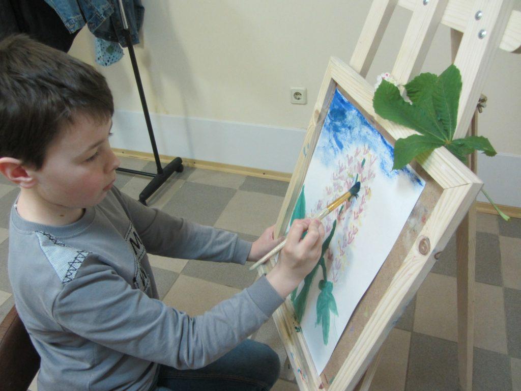 Курс рисования красками - фото 2